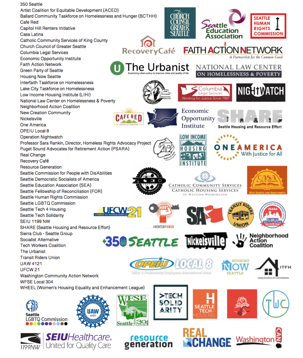 Click on the image to see the letter delivered by Housing For All on March 14th.