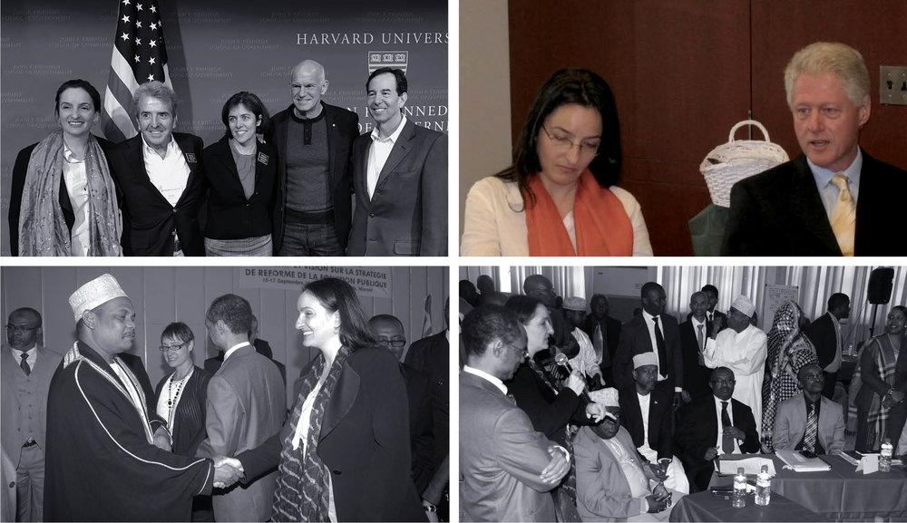 Launching CGI, President Bill Clinton, NYC 2005