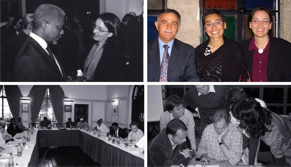 Zainab Salbi, W4W, Jordan 2005