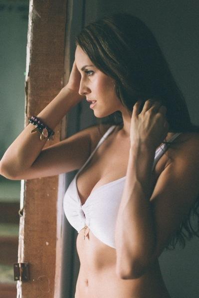 Bikini and Bracelets - Lisa Blue Swimwear