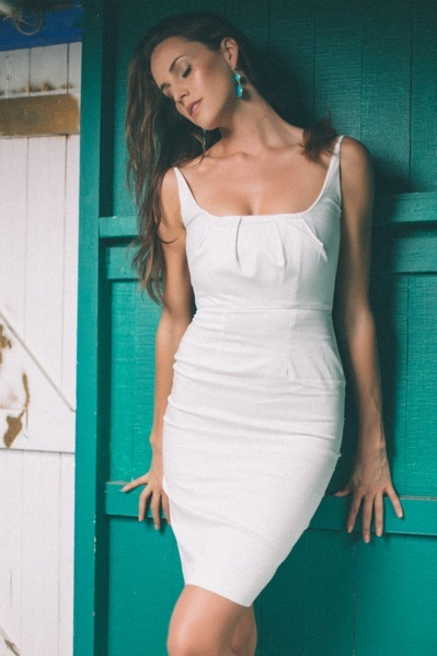 Dress - Magdalena Duma, Earrings - Opa Designs