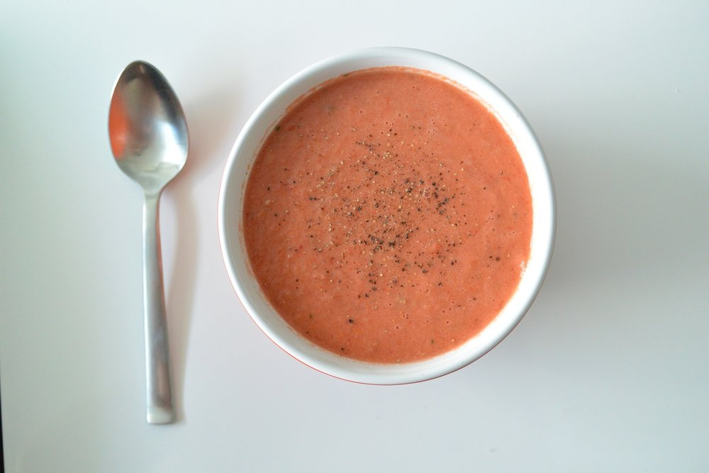 Gazpacho - one of my summer favourites