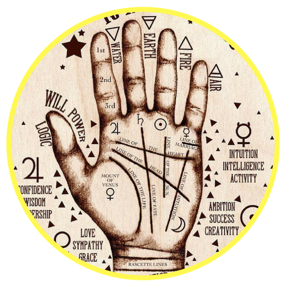 Kabbalistic Palm Reading - Aaron Kemp is the foremost kabbalistic palm reader in the world... your mind WILL be blown!!!