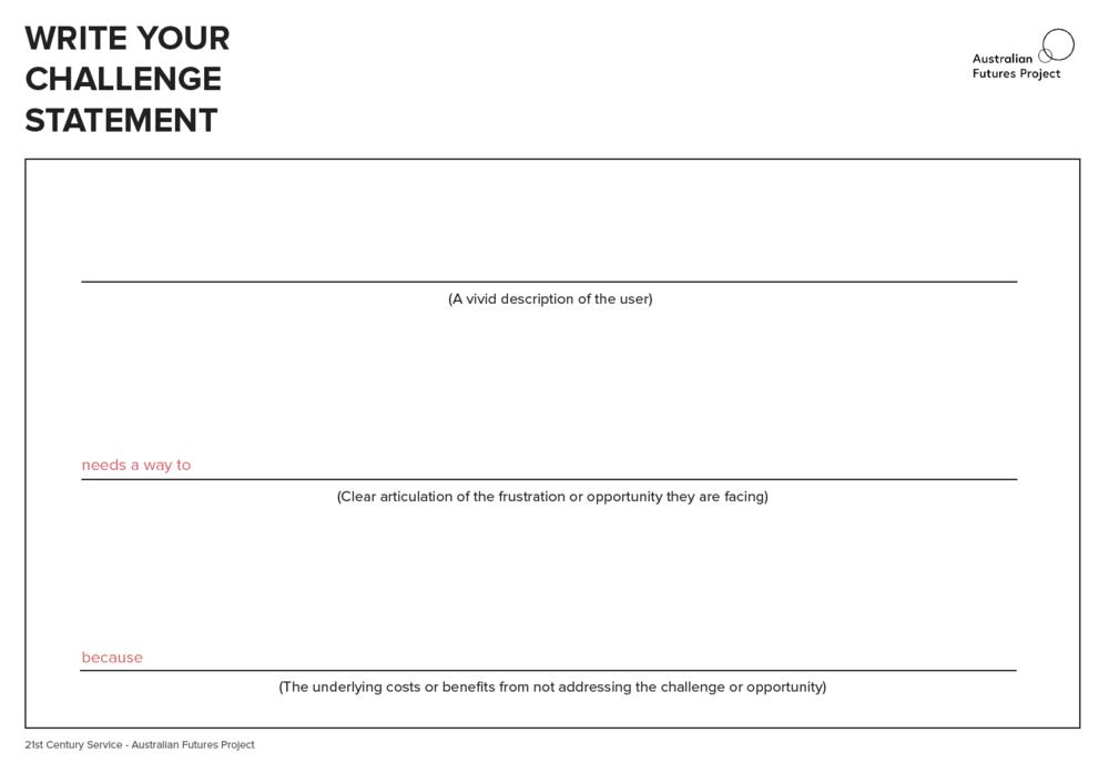 Challenge Statement -