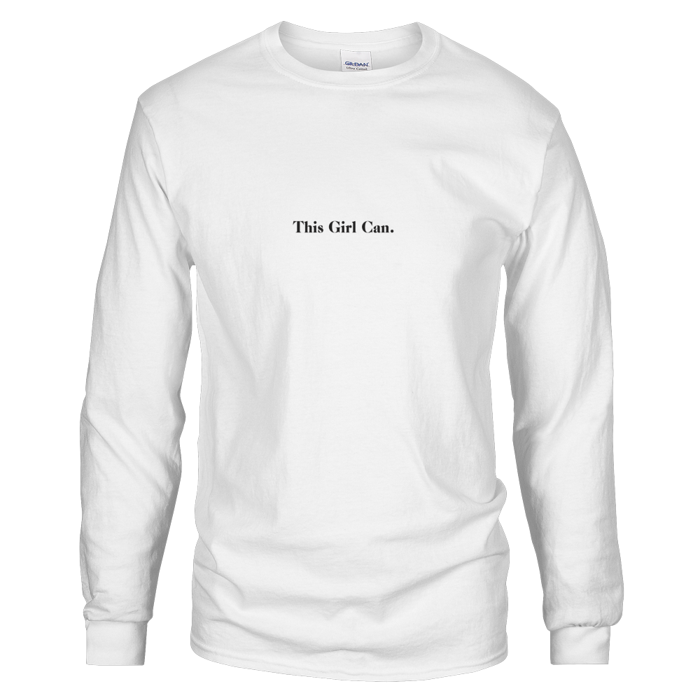 HLFW THIS GIRL CAN LS TEE