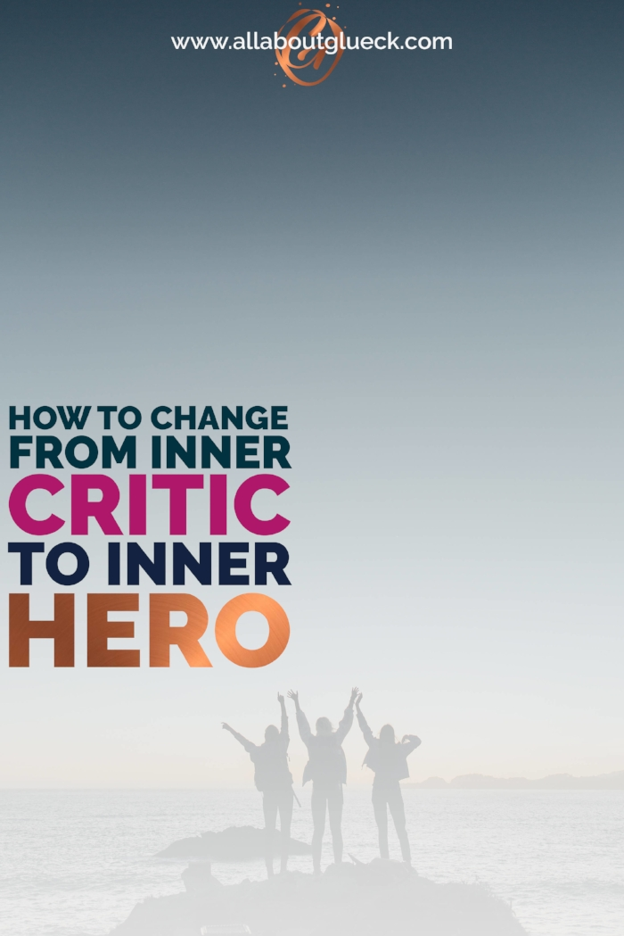 So you want to know how to get rid of all those negative thoughts inside your head? Well the answer is pretty easy! Learn how to make your inner voice your best friend! And don't forget to download your freebie! http://bit.ly/innercritictoinnerhero
