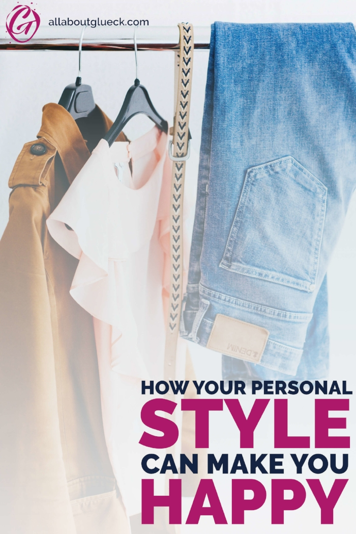 You think that putting on makeup makes you superficial? Or that you can't pull off the styles you see in magazines? Think again! Let me show you how your personal style can make your life happier! And don't forget to sign up for the challenge at the end!