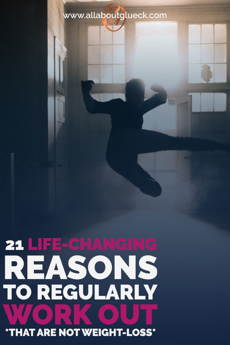 Working out on a regular basis is life-changing! Want to know 21 good reasons that are NOT LOOSING WEIGHT? http://bit.ly/AAGlife-changing
