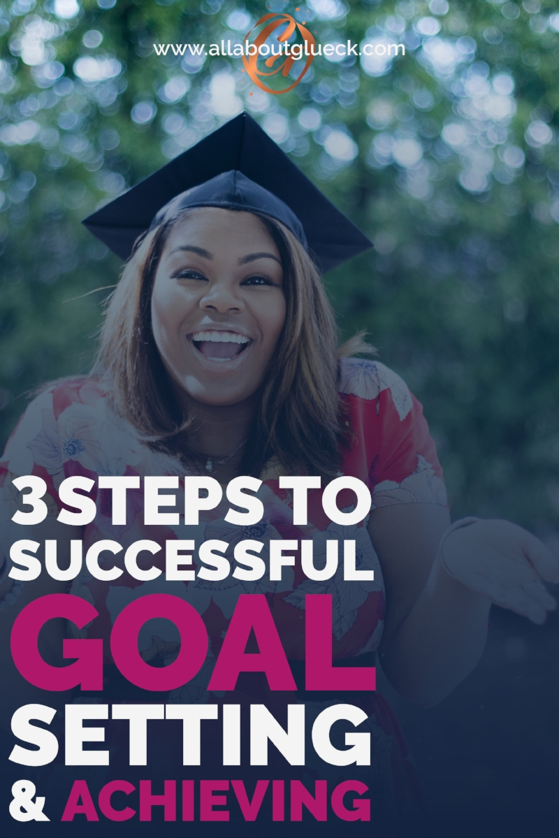 Are you wondering why you are not reaching your goals! Here are 3 exercises that will help you SLAY IT and BE SUCCESSFUL! http://bit.ly/3stepstosettinggoals