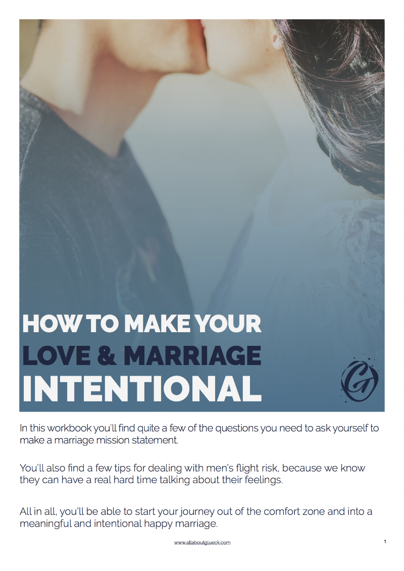 So you want to learn how to be more intentional in your married life? Just grab this workbook and follow the fun and easy exercises! http://bit.ly/intentionalmarriage