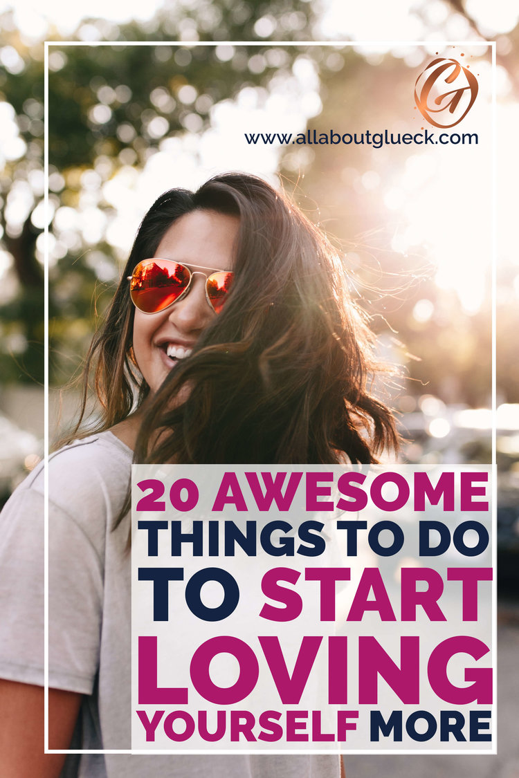 Loving yourself means making sure you have enough love & energy to take care of others. Here are 20 things to get started NOW: http://bit.ly/20awesomethings