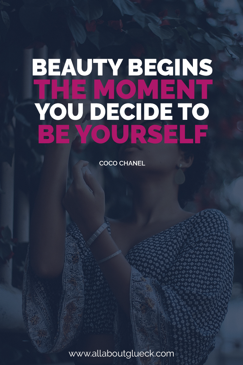 Beauty begins the moment you decide to be yourself. And you need to express exactly that! Learn how expressing your personal style can make you happy! http://bit.ly/happypersonalstyle