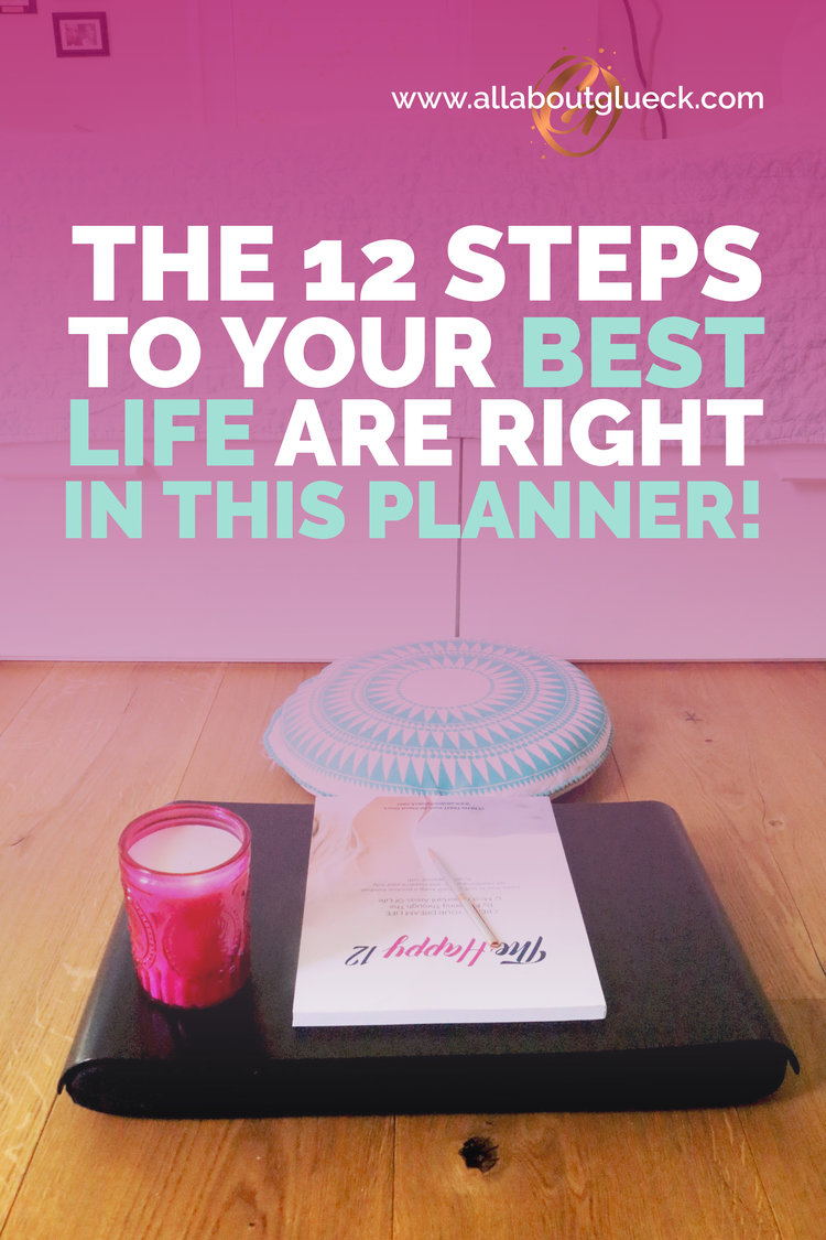 This planner is going to teach you AND help you create your dream life one month at a time. Learn how to love yourself more, how to develop a positive mindset, how to set intentional goals and visualize your best future into existence. Bring your life back to life! bit.ly/thehappy12 #visualization #dreamlife #selflove #goalsetting