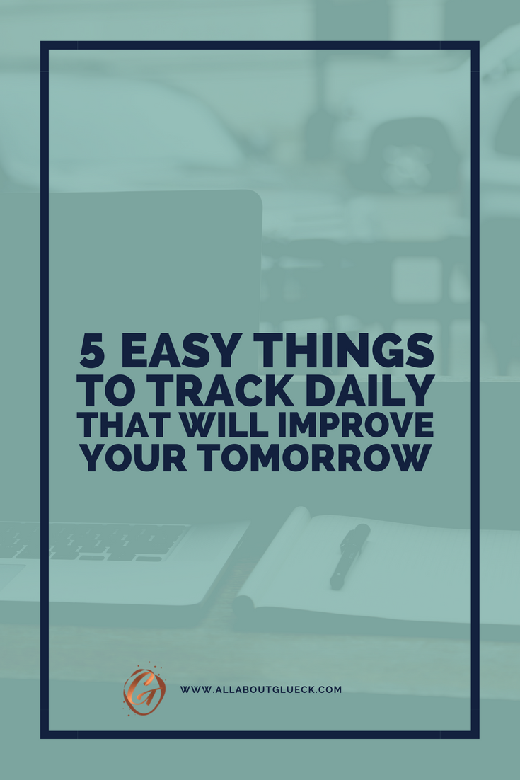 Habit trackers are all the rage right now. They're popping up EVERYWHERE. But no one is telling us WHAT habits exactly to track in order to succeed. That's what I'm here for. In this post I am teaching you 5 good habits to include into your morning routine or daily routine that will make you healthier, calmer, happier and more successful! It's all you need to live a better life. http://bit.ly/5-things-to-track