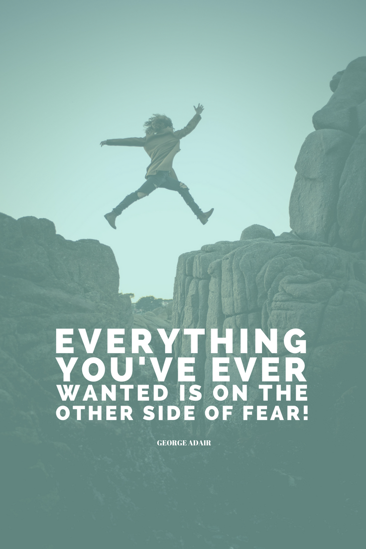 Everything you've ever wanted is on the other side of fear. George Addair Learn all the things that should go into your planner, or as we're going to call it from now on: your LIFE'S PLAYBOOK over @allaboutglueck by Verena Freit http://bit.ly/planner-to-change