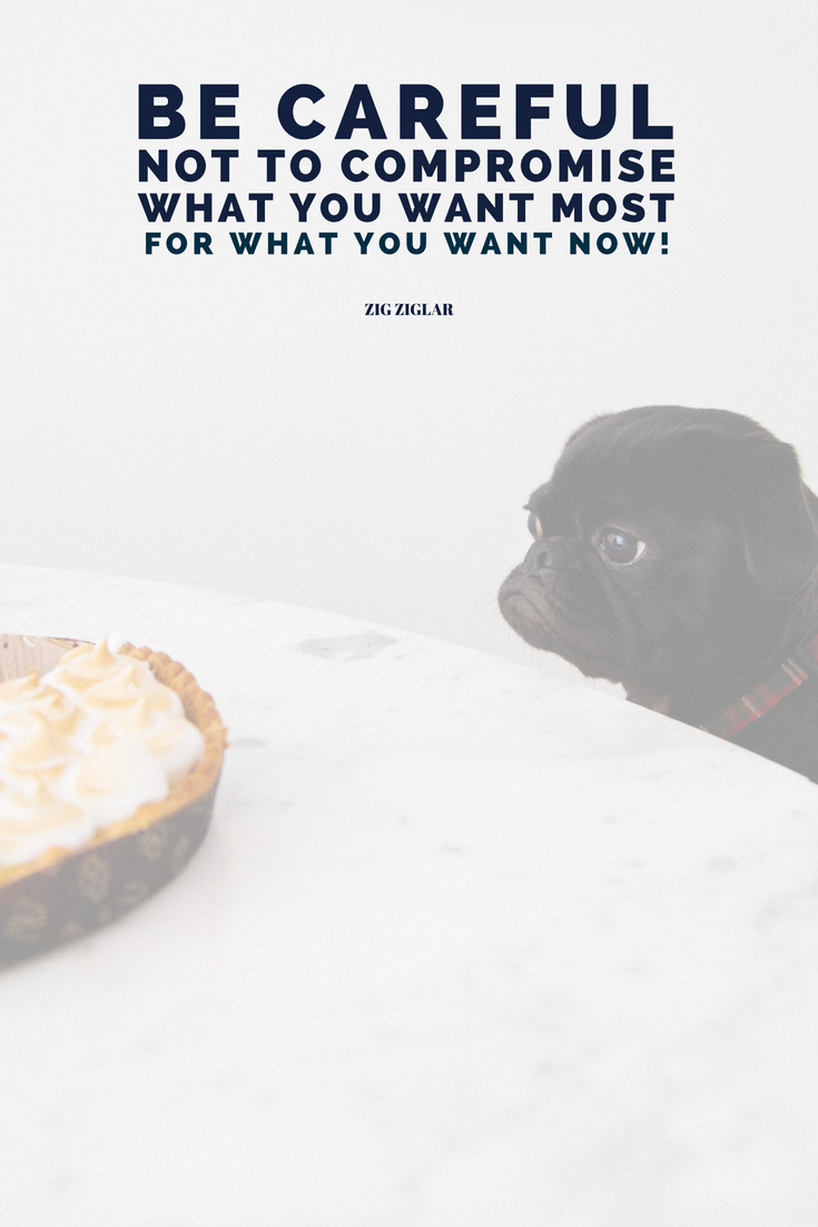 Be careful not to compromise what you want most for what you want now. Zig Ziglar Learn all the things that should go into your planner, or as we're going to call it from now on: your LIFE'S PLAYBOOK over @allaboutglueck by Verena Freit http://bit.ly/planner-to-change