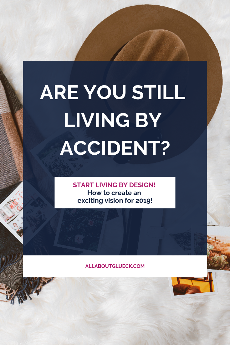 Why would you keep living by accident if you could take back the LEAD ROLE in your life? Start with creating an intentional future vision for you and your family for this coming year! And don't forget to download your FREE WORKBOOK! http://bit.ly/livingbyaccident