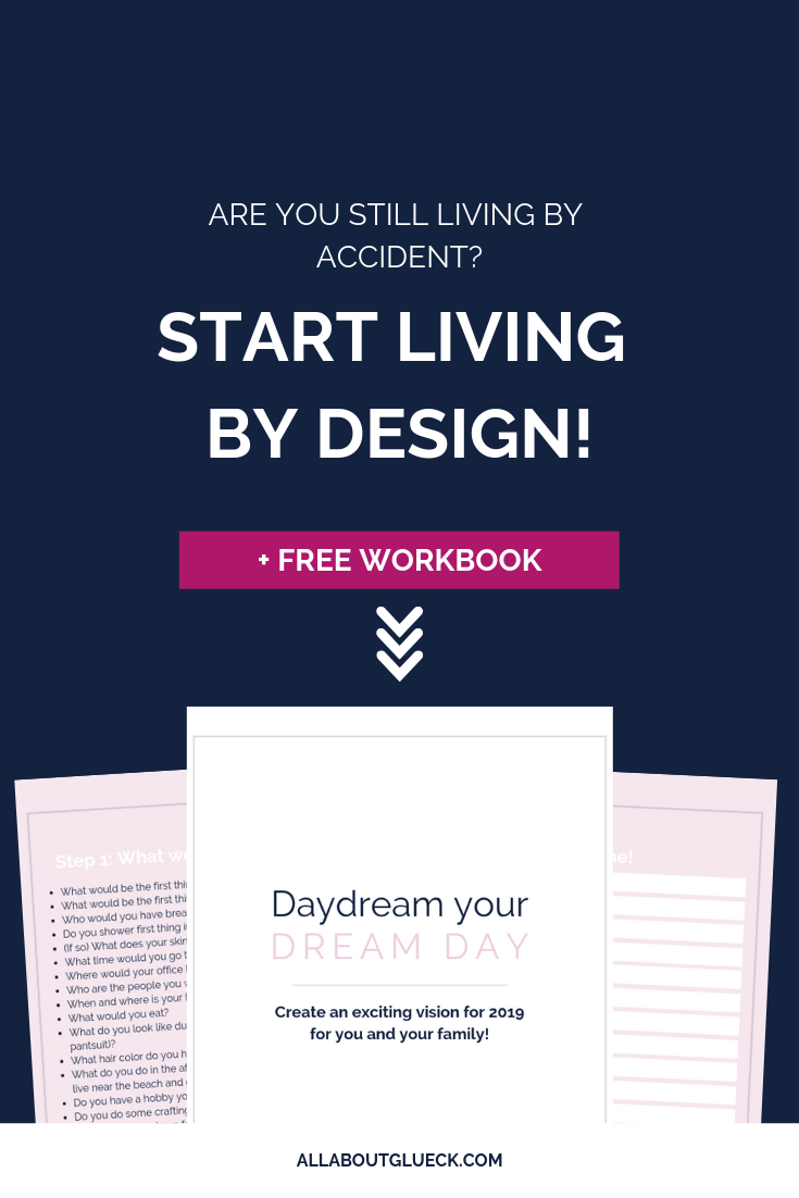 Do you want to take back the lead in your own life instead of just living by accident? I'm giving you the step-by-step on creating an intentional vision for you and your family for this coming year! And make sure you download your FREE WORKBOOK! bit.ly/livingbyaccident