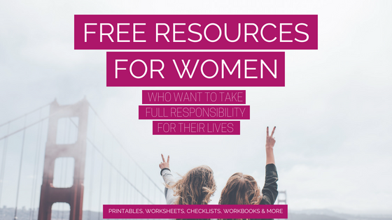 20 + resources for women who want to make their life more intentional and finally take back the lead role in their own life! http://bit.ly/ResourceLibraryAAG