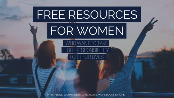Are you looking for resources to finally take back the lead role in your own life and make it intentional AF, achieve some big a** goals and be happier? http://bit.ly/ResourceLibraryAAG
