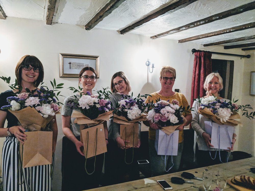 Staffordshire Flower Workshop