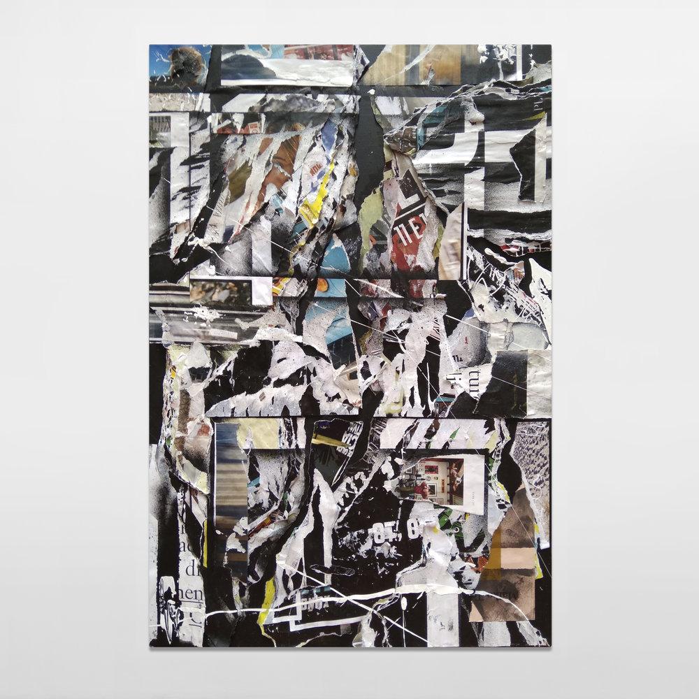 Leftover Landscape V / 60 x 40cm