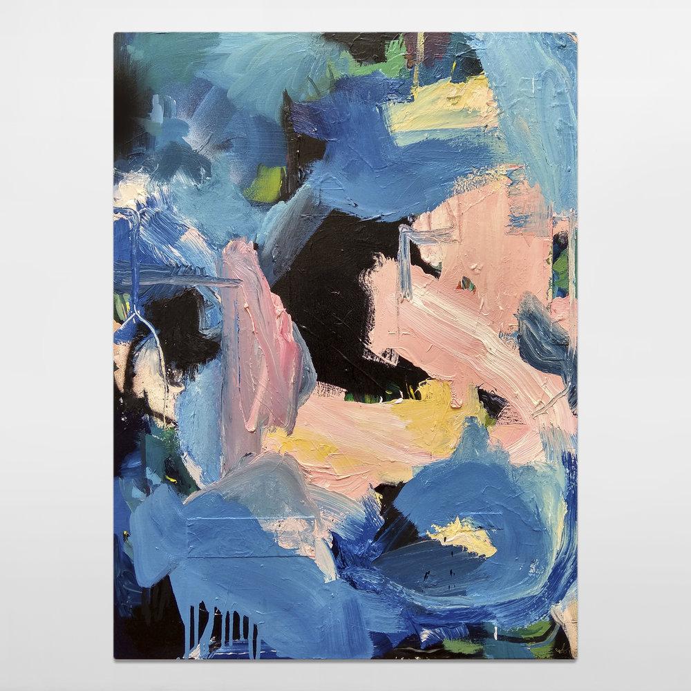 Blue Planet / 80 x 60cm