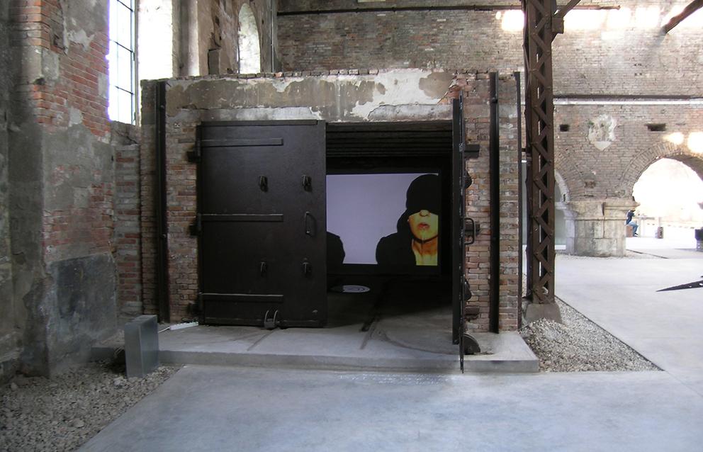Dont' come to Venice at Re:Public   exhibition curated by Amerigo Nutolo   Ibrida and Momos   Tese dell'Arsenale   Venice   2008