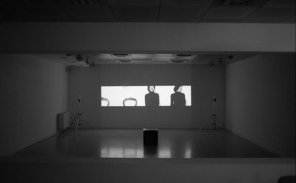 Rotation Black at Galleria dell'Amore | project curated by Marina Abramovic | Galleria Civica di Arte Contemporanea di Trento | 2006