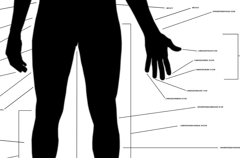 Selected Man Schedules | Digital Image on plexiglass | Detail