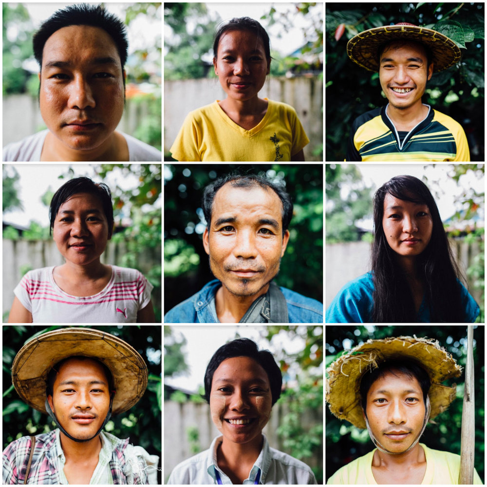 Faces of Hpa-an