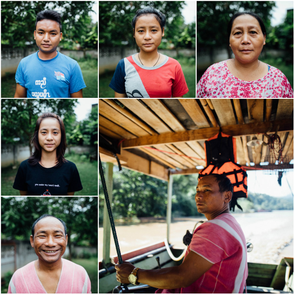 Faces of Mae Sam Laep