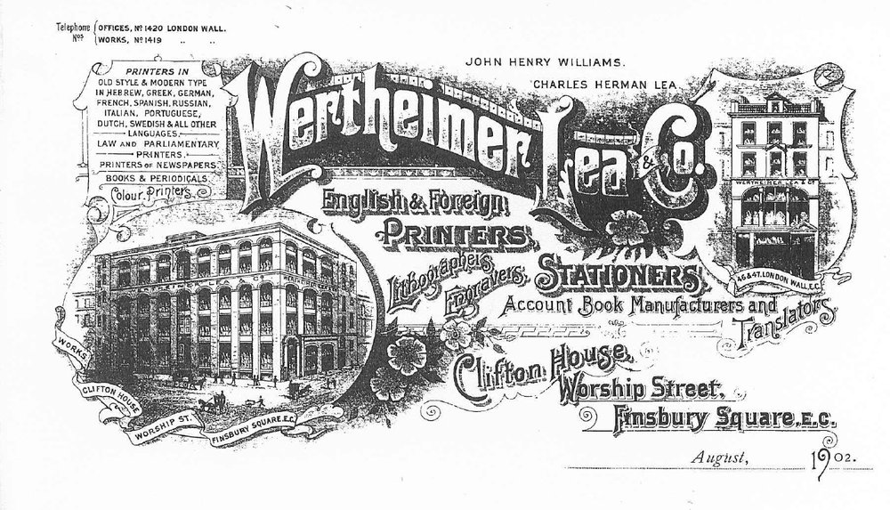 Promotional material from 1902