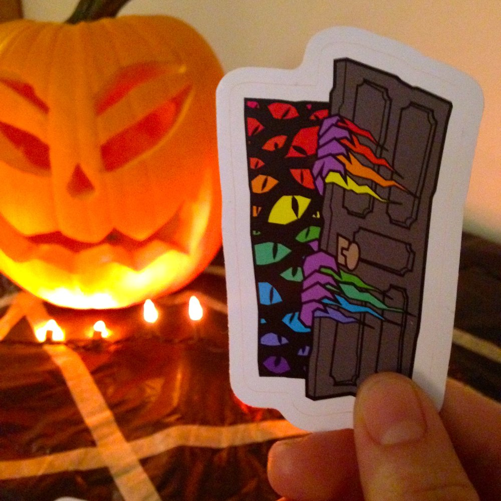 Our new stickers look spooktacular!