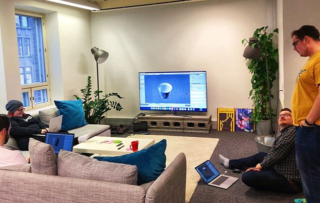 "We had a ""Blender for Dummies"" -afterwork session at the office yesterday; our talented Alex taught us how to create coffee cups ☕️✨ . Did you notice that we are looking for a new Game Artist to join the team? Check out the position from the link in bio! . #3dmodelling #3ddesign #gamedesign #gamedev #hiring #blender #officelife #shipyardgames"