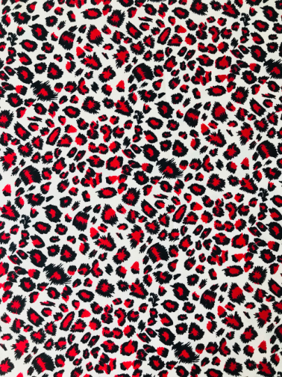 Red Leopard - **NEW AUTUMN 2018**