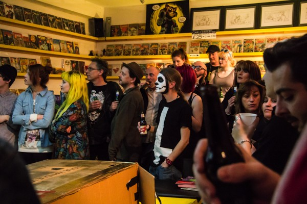 P M Buchan at the Orbital CULT launch.jpg