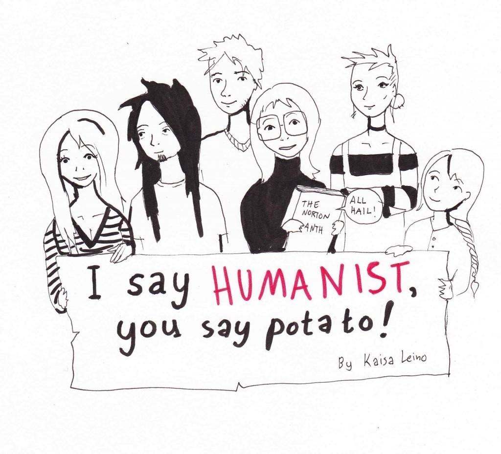 I say HUMANIST,you say potato!
