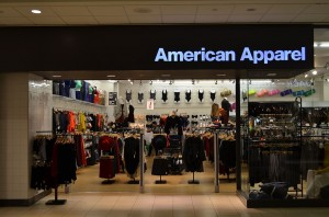 An American Apparel Store