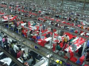 Garment Factory in Bangladesh (Taken by Fahad Faisal)