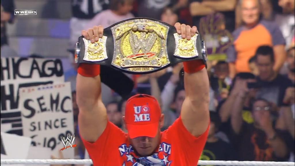 The WWE Champion John Cena (Screencap)