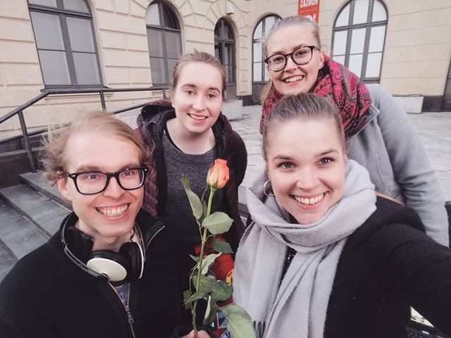 BTSB's team had a blast yesterday welcoming English students from all over the country! We witnessed some not at all disappointing newspaper outfits and were sung a love song.  #NMES #wearesub #betterthanslicedbread #universityofhelsinki #englishstudents #englishwriters #studentjournalism