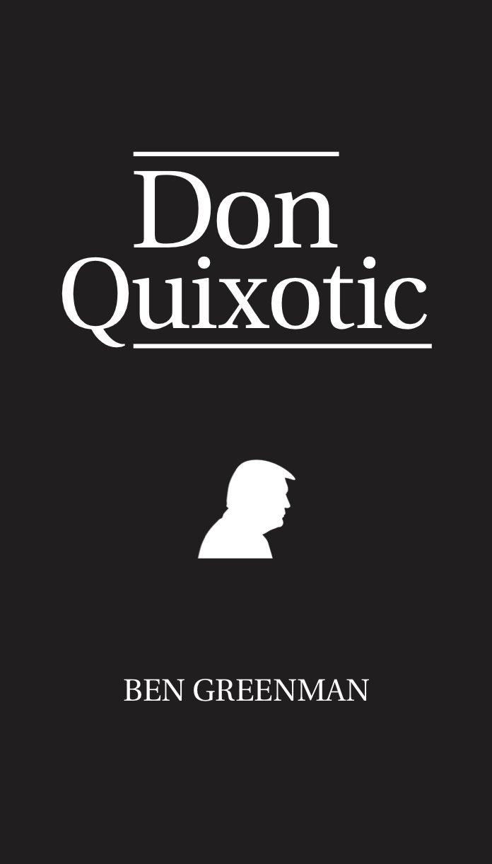 don quixotic - by ben greenmanFiction, 4.5