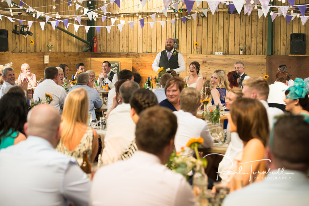 Speeches are a great opportunity for wedding photos and can easily be included in the Essentials package