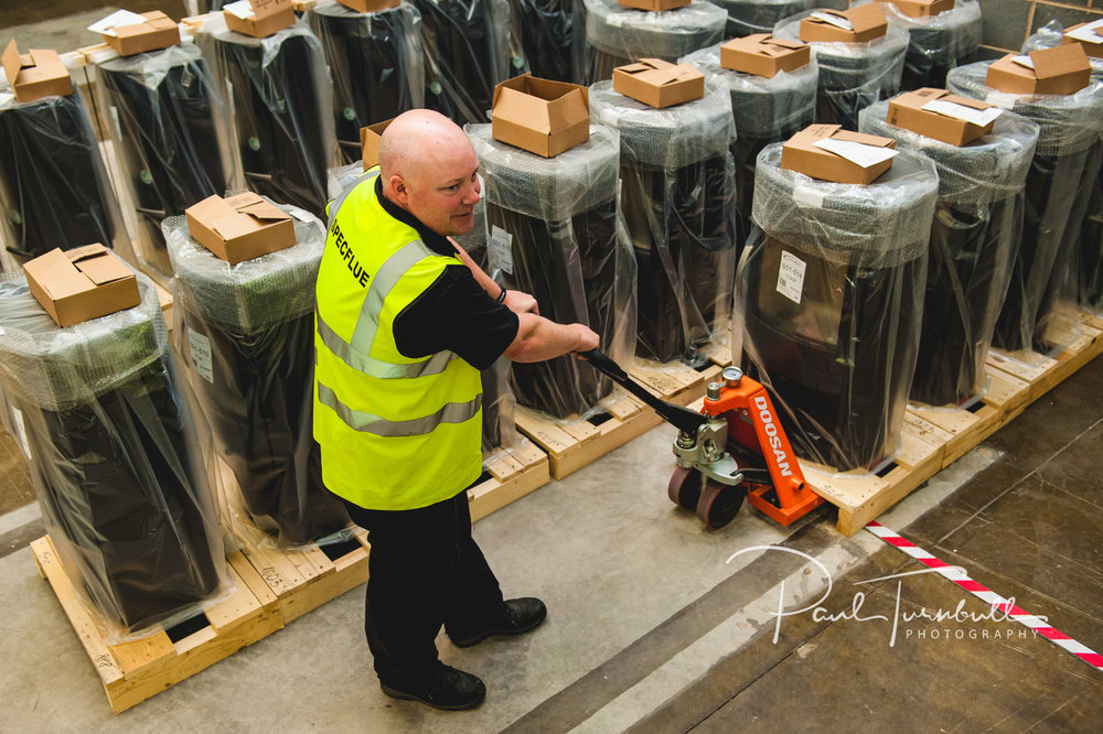 Warehouse operative at SpecFlue