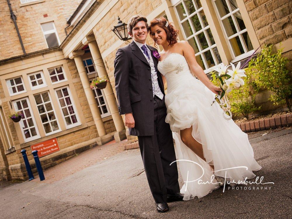 Vanessa & James - Healds Hall Hotel, Liversedge