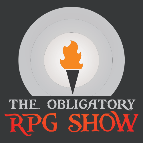 "- You see a podcast labelled The Obligatory RPG Show. A block of small, cursive text beneath it reads: this podcast grants the bearer audible discourse about Role Playing Games including interviews with Designers, Dungeon Masters, Game Masters, and Gamers, in-depth discussions, and high adventure.Your finger hovers over the ""play"" button.What do you do?"