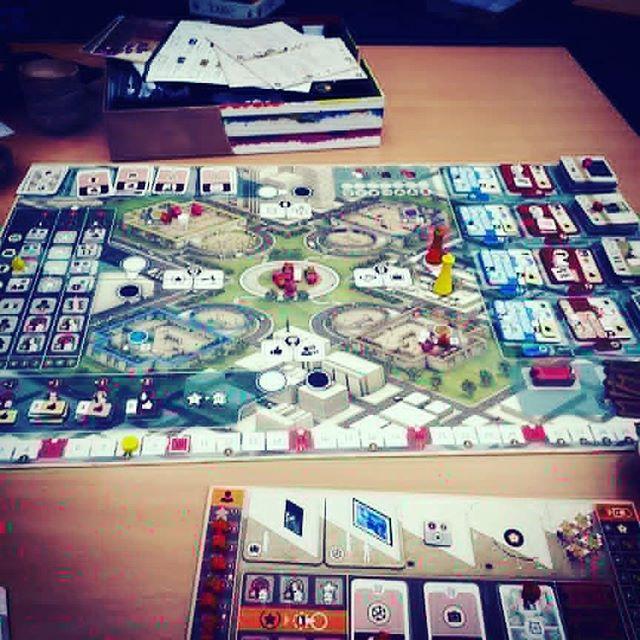The gallerist is a beautiful game  #brnau #bgg #boardgame #geek #Geekmedia
