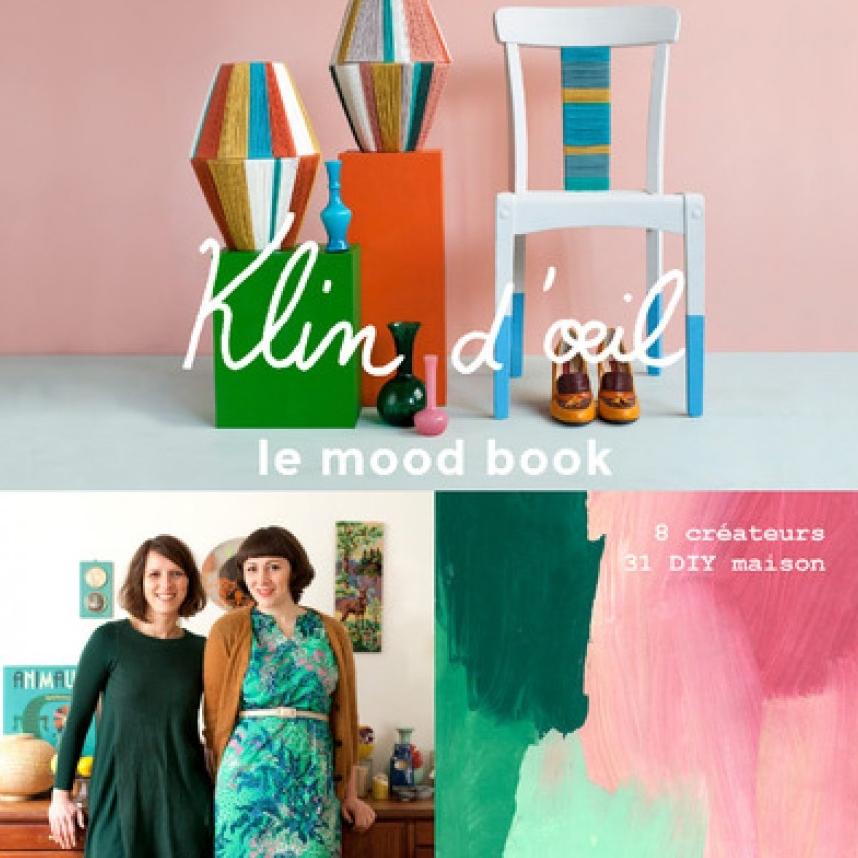 8. DE L'INSPIRATION - pour fabriquer soi-même sa décoration éco-responsable avec le superbe livre de DIY par Klindoeil qui met en avant plusieurs créatrices de talent (19,90€).