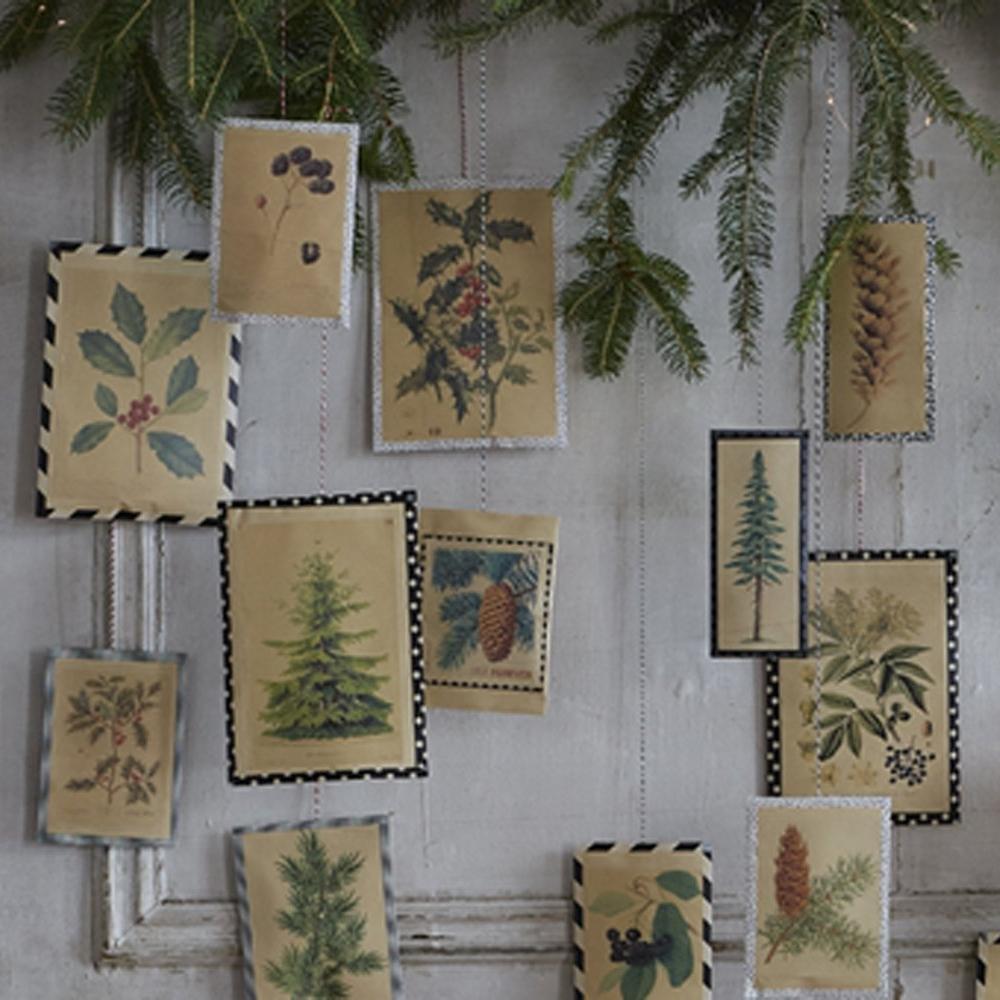 Un calendrier de l'avent botanique par  Marie Claire Idées